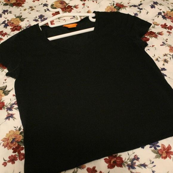 black v-neck tee(FREE in bundle)